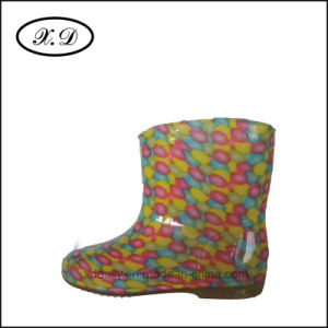 Fashion Rain Boots PVC Boots for Kid′s pictures & photos