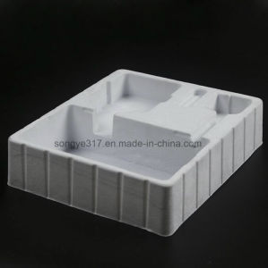 White Flocking Blister Packaging Tray for Handware pictures & photos