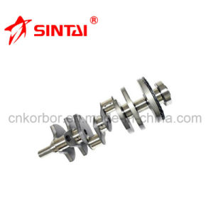 Casting Steel Crankshaft for Mercedes Benz Om402 4020304301/4020303701 pictures & photos