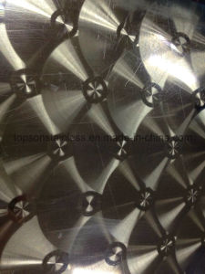 201 304 316 Decorative Stainless Steel Plate with Laser Finish pictures & photos