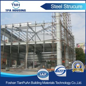 2 Floor Prefabricated Steel Structure Frame House Building pictures & photos