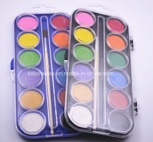 2.8cm*12 Colors High Quality Water Color Cake for Kids and Students pictures & photos