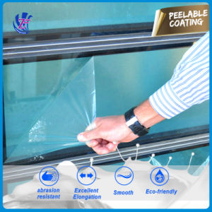 Anti-Scratch Removable Protective Plastic Coating PU-206/C pictures & photos