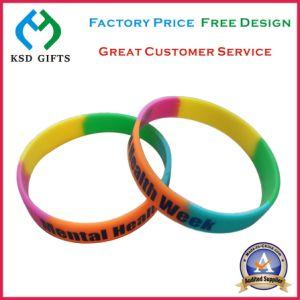 Segment Silicon Bracelet with No Minimum Order Qty (KSD-1121) pictures & photos