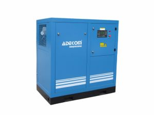 Belt Driven Oil Injected Screw Rotary Air Compressor (KB18-13) pictures & photos