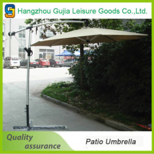 Aluminum Waterproof Convenient Detachable Double Roof Garden Umbrellas pictures & photos