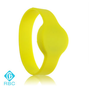 High Temperature Resistance NFC Silicone Bracelet for Access Control pictures & photos