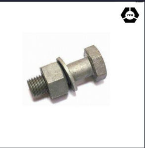 Heavy Hex Structural Bolt DIN6914 with Nut and Washer pictures & photos