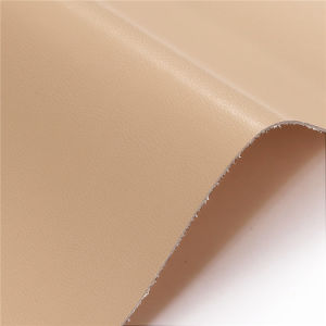 Sheep Grain Microfiber Faux Artificial Leather for Shoes, Bags, Garment, Decoration (HS-Y80) pictures & photos