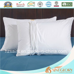 Wholesale White Pillow Cover Pure Cotton Pillow Case pictures & photos