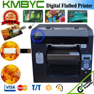 Small Size UV LED Plastic Card Printer pictures & photos