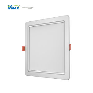 RoHS Ce 3c Square LED Slim Downlight Light Excellent Heat Dissipation 80lm/W pictures & photos