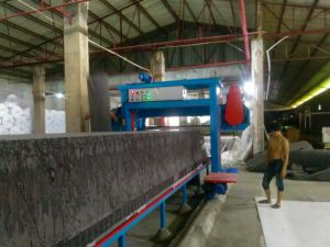 Automatic Long Sheets Sponge Cutting Machine