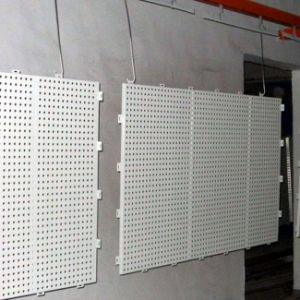 Plaza Facade Wall Decoration by Perforated Aluminum Panel with PVDF Coating pictures & photos