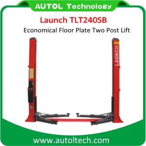 Launch Tlt240sb Car Economical Floor Plate Two Post Lift (CE standard configuration) pictures & photos