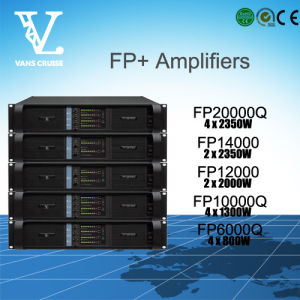 Fp14000 2channels Outdoor Line Array Professional Power Amplifier pictures & photos