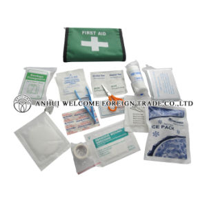 First-Aid Kit Green Box for Car pictures & photos