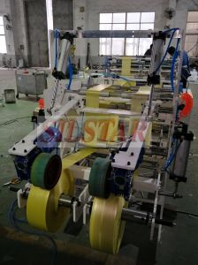 Automatic Rewinder Plastic Star Sealing Rolling Bag Making Machine pictures & photos