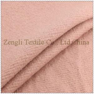80% Polyester 20%Wool of Women Overcoat Woolen Fabric pictures & photos