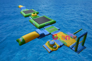 Commerical Grade Inflatable Floating Water Playground Water Park for Lake pictures & photos
