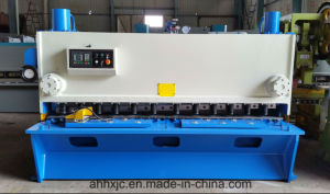 Huaxia QC11y Digital Display Hydraulic Guillotine Shearing Cutting Machine pictures & photos