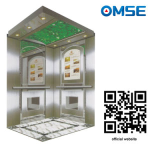 Traction Machine AC Drive Type Effective and Energy-Saving Passenger Elevator pictures & photos