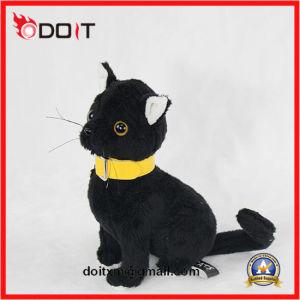 Soft Stuffed Cat Cute Black Plush Cat Toys pictures & photos
