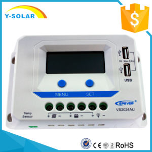 Epever 20AMP 12V/24V Solar Charging/Charge Controller Vs2024au pictures & photos