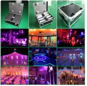 12PCS Wireless PAR Can Flat Bar LED Light with Battery pictures & photos