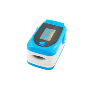 Cheap Price Ce Approved LCD Fingertip Finger Pulse Oximeter SpO2 Pr Monitor Oximetry Rpo-8b6 -Fanny pictures & photos