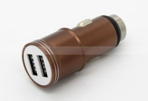 12V/3.1A Alloy Dual USB 2 Ports Safety Hammer Car Charger for iPhone Samsung iPad Tablet PC Mobile Phone pictures & photos