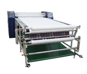High Precision Multi-Functional 420mm* 1.7m Width Roller Drum Heat Transfer Machine for Textile Sublimation Printing pictures & photos