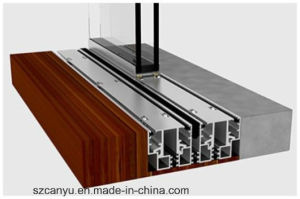 China Supplier High Quality Sliding Door Large Sliding Glass Doors pictures & photos