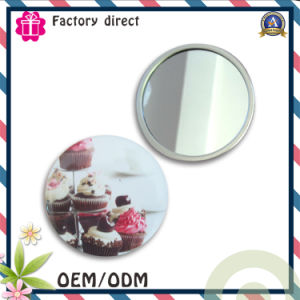 New Design 2017 Promotional Round Tin Mirror pictures & photos