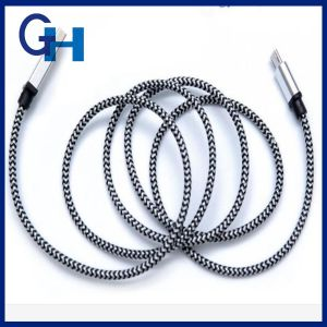 2016 High Quality Stainless Steel Mfi Certificate 1m Data Cable Works for ISO 10.0 pictures & photos