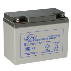 50ah Rechargeable AGM Battery UPS Battery Solar Power Battery
