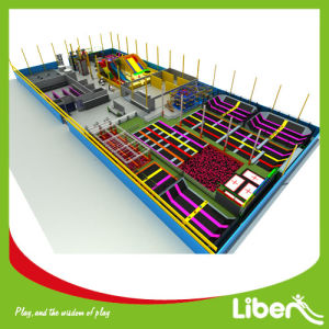 CE Approved Liben Popular Kids Indoor Trampoline Park with Foam Pit pictures & photos