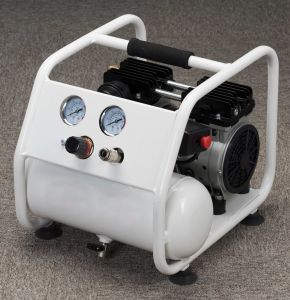 Tat-0904hn Hand Carry Silent Oil Free Air Compressor (0.75HP 4L) pictures & photos
