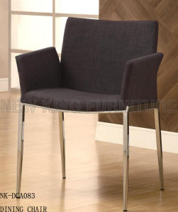 Stainless Steel Restaurant Dining Chair in Silver Plating Finish (NK-DCA083) pictures & photos