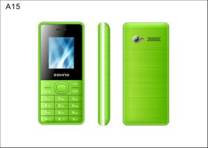 Cheapest 1.8 Inch Feature Phone GSM Dual SIM China Low Price Mobile Function Phone A15 pictures & photos