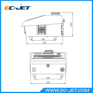 Industrial Machinery Equipment Large Characters Inkjet Printer for Carton (EC-DOD) pictures & photos