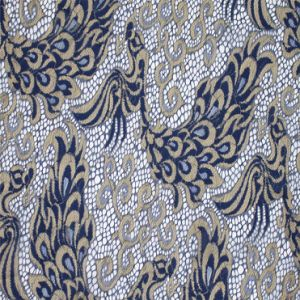 Cheap High Quality Wholesale Flower Gold Textile French Lace