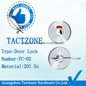 Good Selling Toilet Partition Cubicle Fittings Stainless Steel Door Lock pictures & photos