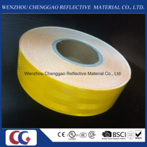Wholesale Manufacturers Yellow Adhesive Safety Reflective Tape for Vehicle pictures & photos