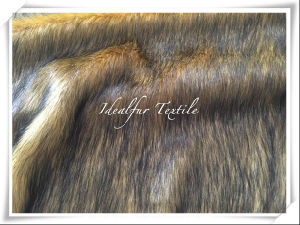 Printed Fox Fake Fur /Faux Fur pictures & photos
