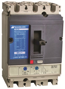 10 to 60 AMP 2p/4p Pg Moulded Case Circuit Breaker with Leakage Protection pictures & photos