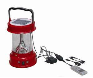 Portable Solar LED Rechargeable Camping Lantern with Multifunctions pictures & photos