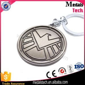 Zinc Alloy Matt Silver Dove Logo Key Chain for Gifts pictures & photos