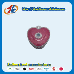 Promotional Gift Plastic Heart Shape Jewelry Ring Box Toy pictures & photos