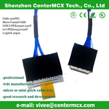 Ipx 20454-040t Micro Coaxial Cable Assembly to Lvds Cable pictures & photos